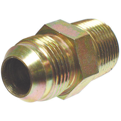 Picture of Apache 1/2 In. Male JIC x 1/2 In. Male Pipe Straight Hydraulic Hose Adapter