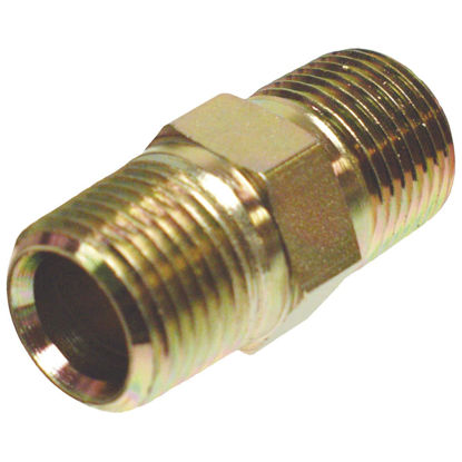 Picture of Apache 1/2 In. Male Pipe x 1/2 In. Male Pipe Straight Hydraulic Hose Adapter