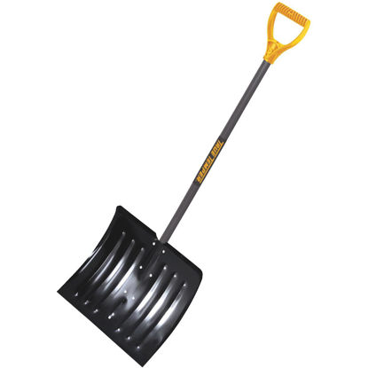 Picture of True Temper 18 In. Steel Snow Shovel with 37 In. Wood Handle