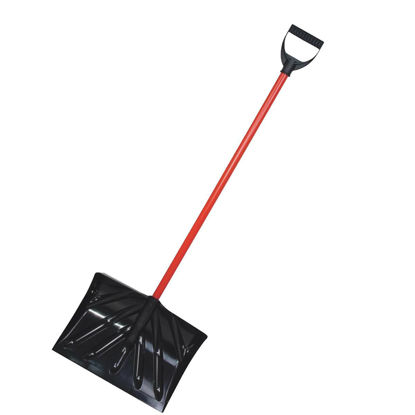 Picture of True Temper 16 In. Poly Snow Shovel & Pusher with 36 In. Steel Handle