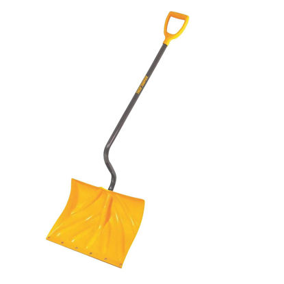Picture of True Temper 18 In. Poly Snow Shovel with 40 In. Steel Handle
