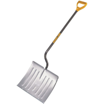Picture of True Temper 18 In. Aluminum Snow Shovel with 37.5 In. Steel Handle