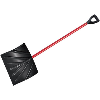 Picture of True Temper 18 In. Poly Snow Shovel with 37 In. Steel Handle