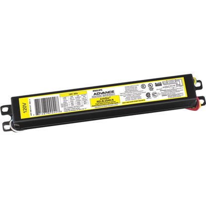 Picture of Philips Advance Rapid Start 40W 120V 1 or 2 Lamp Electronic Ballast