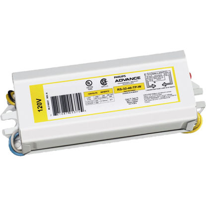 Picture of Philips Advance Rapid Start 22W/40W 120V 1 Lamp Magnetic Ballast