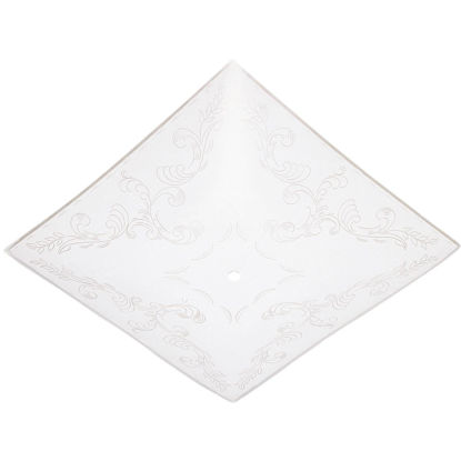 Picture of Westinghouse 14 In. White Square Floral Design Ceiling Diffuser