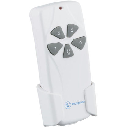 Picture of Westinghouse White Universal 3-Speed Ceiling Fan Remote Control