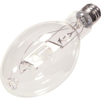Picture of Satco 400W Clear ED37 Mogul Screw Metal Halide High-Intensity Light Bulb