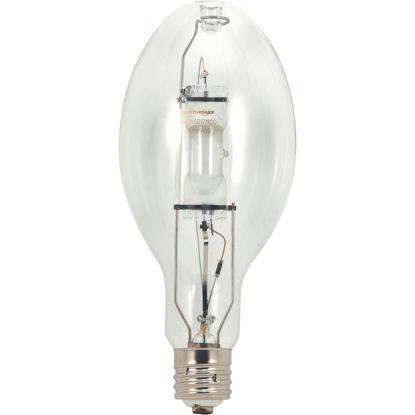 Picture of Satco 250W Clear ED28 Mogul Screw Metal Halide High-Intensity Light Bulb