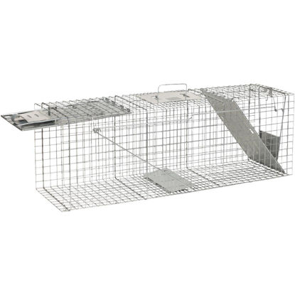 Picture of Havahart Galvanized Steel 36 In. 2-Door Large Animal Trap