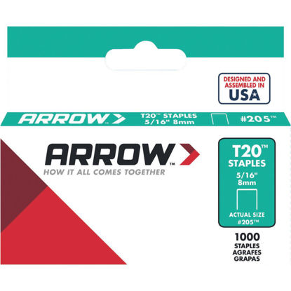 Picture of Arrow T20 Staple, 5/16 In. (1000-Pack)