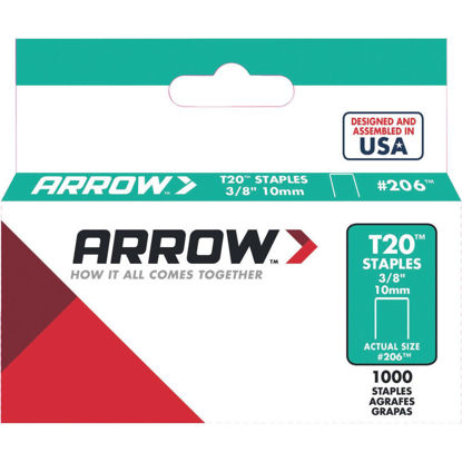 Picture of Arrow T20 Staple, 3/8 In. (1000-Pack)