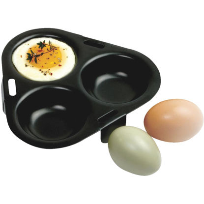 Picture of Norpro 3-Egg Non-Stick Egg Poacher