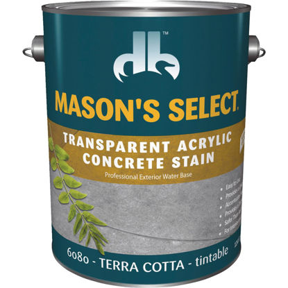 Picture of Duckback Mason's Select Interior/Exterior Terra Cotta Concrete Stain, 1 Gal.