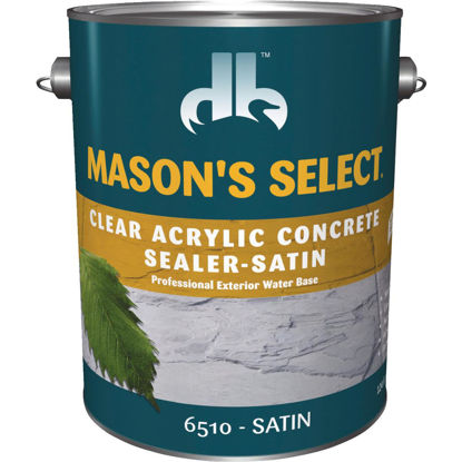 Picture of Duckback Mason's Select Clear Satin Concrete Sealer, 1 Qt.