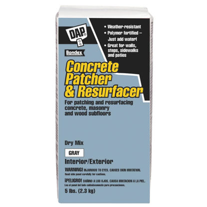 Picture of Dap Bondex 5 Lb Dry Mix - Gray Concrete Patch