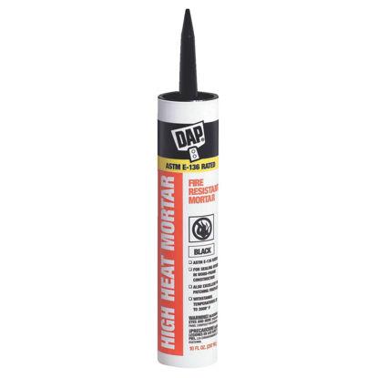 Picture of Dap 10.1 Oz. Black Fire Resistant Mortar Hi-Temp Sealant