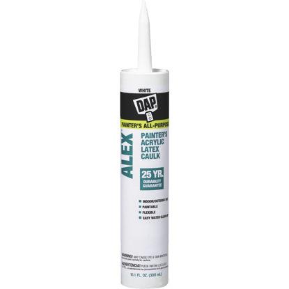 Picture of DAP ALEX 10.1 Oz. White Painter's Acrylic Latex Caulk