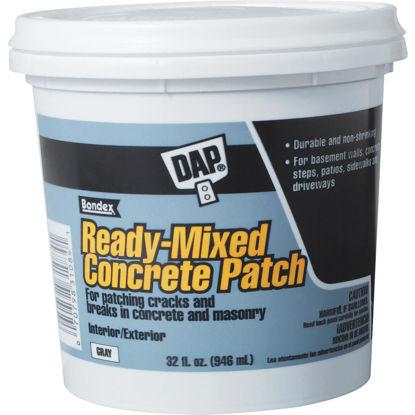 Picture of Dap Bondex 1 Qt Pre Mixed Gray Concrete Patch