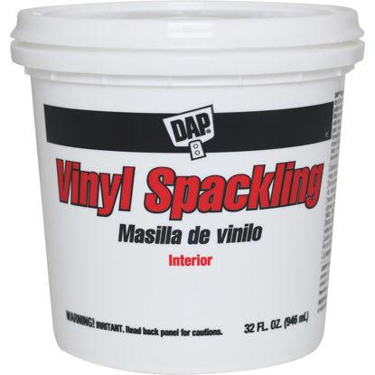 Picture of DAP 1 Qt. Heavy-Duty Vinyl Interior Vinyl Spackling Compound