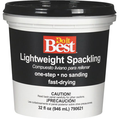 Picture of Do it Best 1 Qt. Lightweight Acrylic Spackling