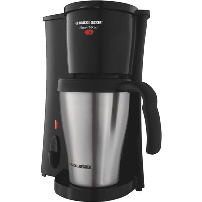 Picture of Black & Decker Brew N' Go Personal Black Coffee Maker