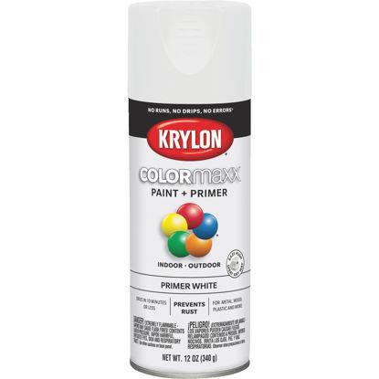 Picture of Krylon ColorMaxx White 12 Oz. All-Purpose Spray Paint Primer