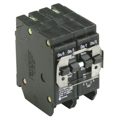 Picture of Eaton BQ 30A/30A Quad-Pole Standard Trip Quadplex Circuit Breaker