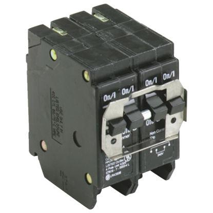 Picture of Eaton BQ 20A/20A Quad-Pole Standard Trip Quadplex Circuit Breaker
