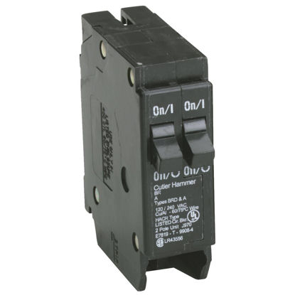 Picture of Eaton BR 30A/30A Double-Pole Standard Trip Duplex Circuit Breaker
