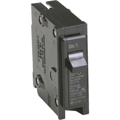 Picture of Eaton BR 15A Single-Pole Standard Trip Circuit Breaker