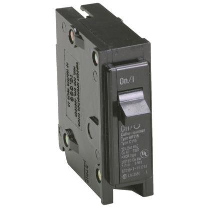 Picture of Eaton BR 20A Single-Pole Standard Trip Circuit Breaker