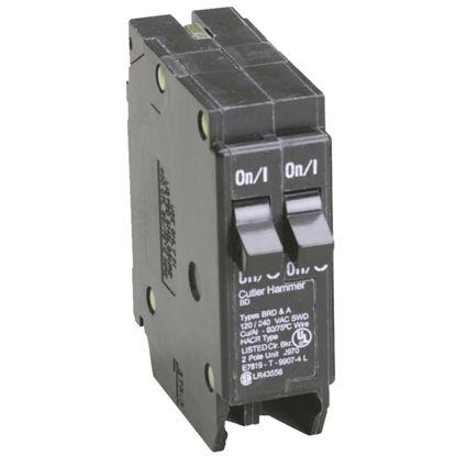 Picture of Eaton BD 20A/20A Double-Pole Standard Trip Duplex Circuit Breaker