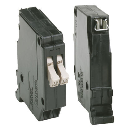 Picture of Eaton 15A/15A Twin Single-Pole Circuit Breaker