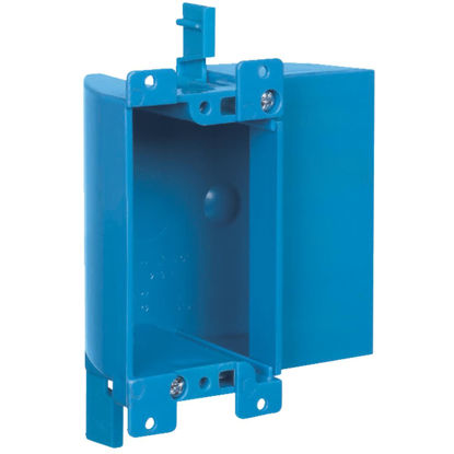 Picture of Carlon 1-Gang PVC Molded Shallow Old Work Box