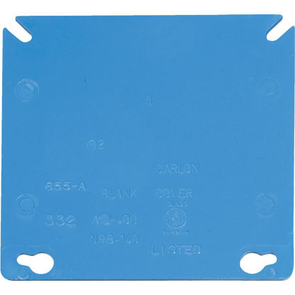 Picture of Carlon Blank 4 In. x 4 In. Square Raised Cover