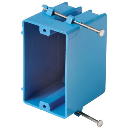 Picture of Carlon 1-Gang PVC Molded Wall Switch Box
