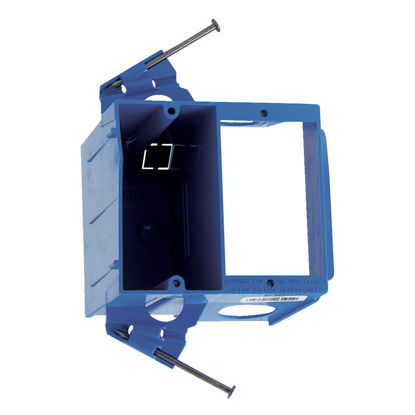 Picture of Carlon 2-Gang Dual Voltage Electrical Box