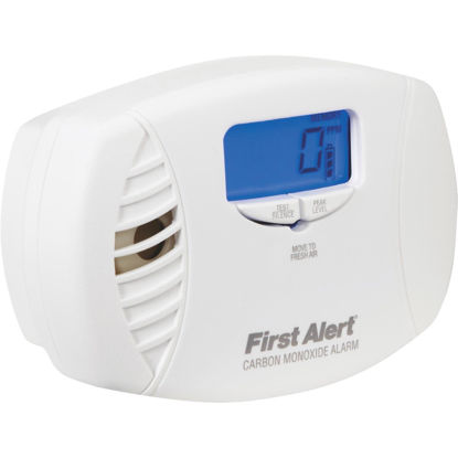 Picture of First Alert Plug-In 120V Electrochemical Easy To Read Digital Display Carbon Monoxide Alarm