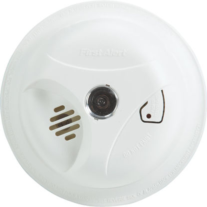 Picture of First Alert Battery Operated 9V Ionization Smoke Alarm with Light