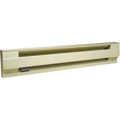 Picture of Cadet 48 In. 1000-Watt 240-Volt Electric Baseboard Heater, Almond