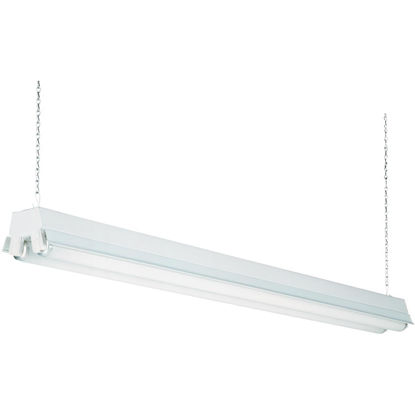 Picture of Lithonia 4 Ft. 2-Bulb T12 Fluorescent Shop Light Fixture