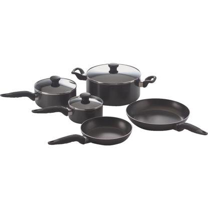 Picture of Mirro Black Non-Stick Aluminum Cookware Set (10-Piece)