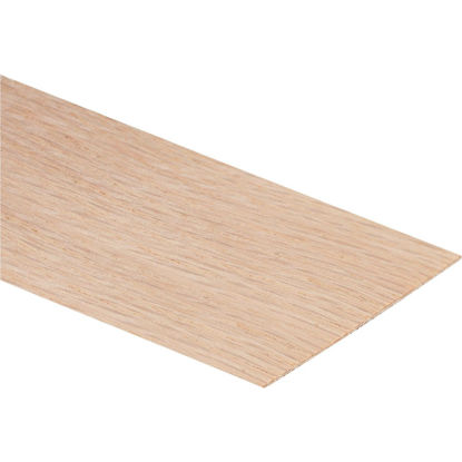 Picture of Cloverdale Band-It 24 In. x 8 Ft. Sheet Red Oak Veneer