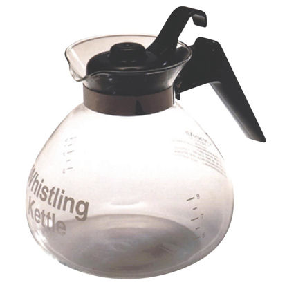 Picture of Medelco 3 Qt. Glass Stovetop Stove Top Tea Kettle