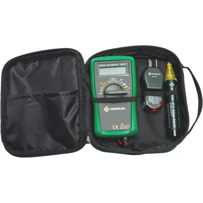 Picture of Greenlee 3-Piece Multimeter Test Kit with Case
