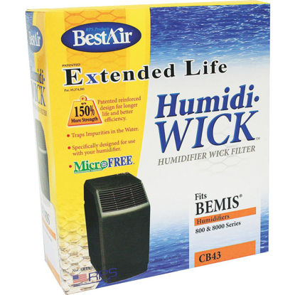 Picture of BestAir Extended Life Humidi-Wick CB43 Humidifier Wick Filter (2-Pack)