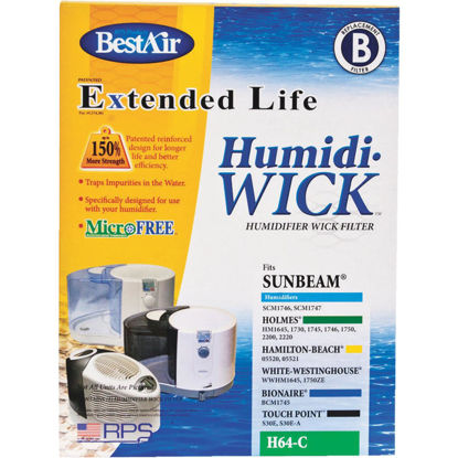 Picture of BestAir Extended Life Humidi-Wick H64 Humidifier Wick Filter