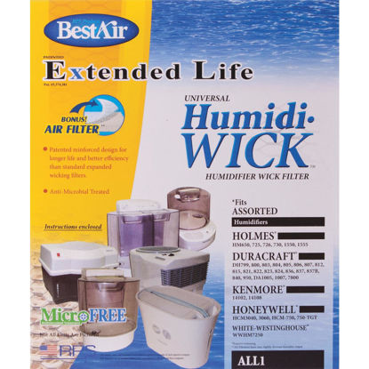 Picture of BestAir Extended Life Humidi-Wick ALL1 Humidifier Wick Filter with Air Filter