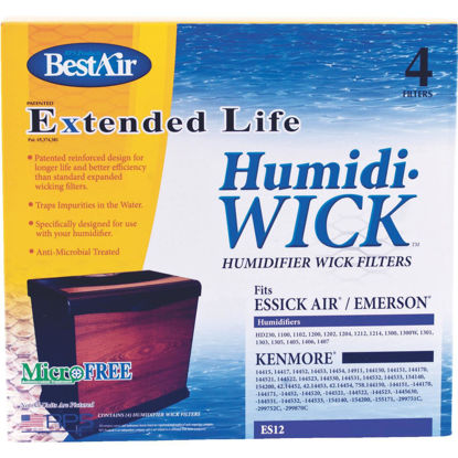 Picture of BestAir Extended Life Humidi-Wick ES12 Humidifier Wick Filter (4-Pack)